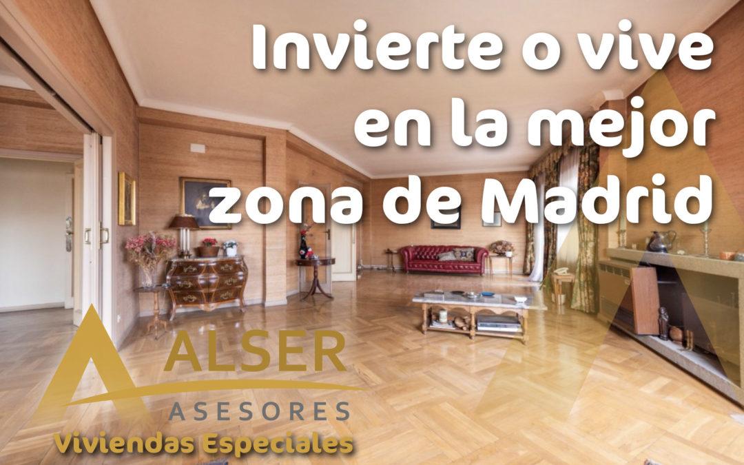 Invierte o vive en la mejor zona de Madrid